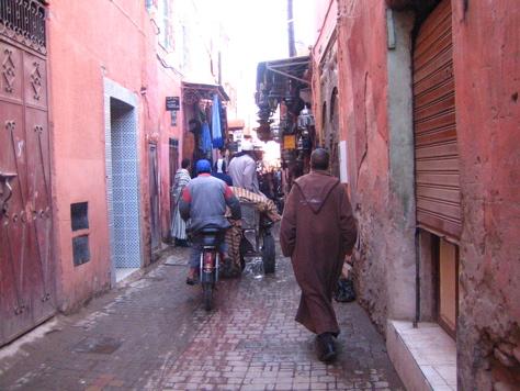 Rue, Marrakech