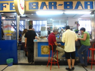 typical bar, mercado de san fernando